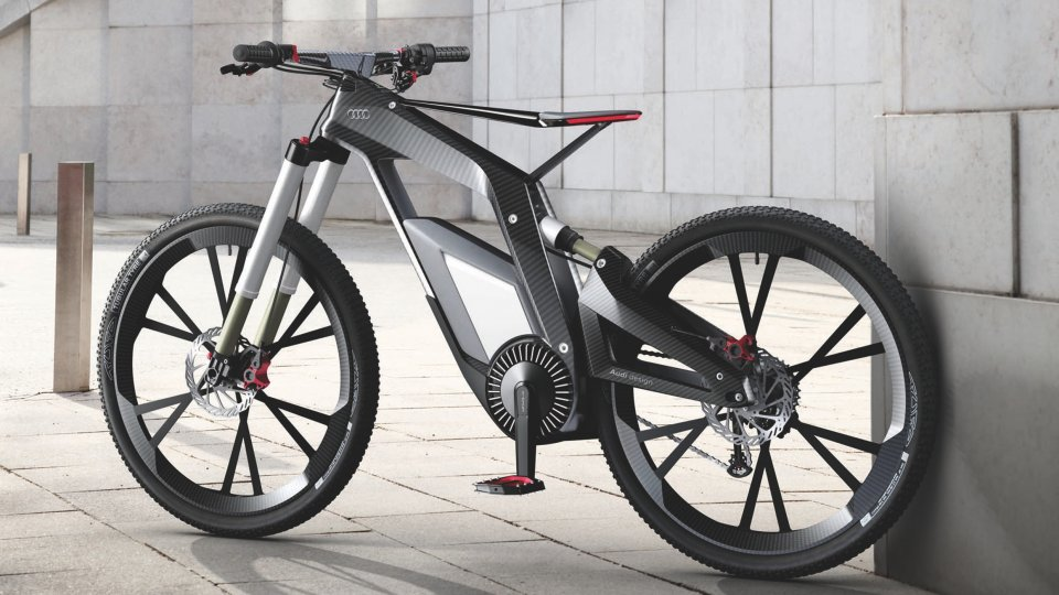 Audi e-bike prototype cycle 2012
