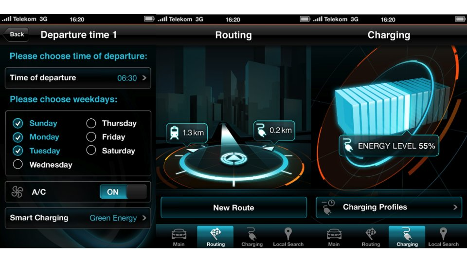 BMW i app iPhone