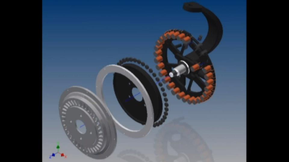Plug In Hybrid Retrofit Kit Mtsu Wheel Hub Motor