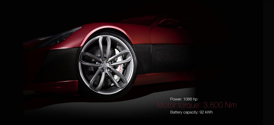 Rimac Concept One power info
