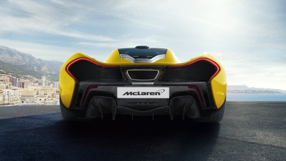 Mclaren P1 rear static monaco doorsdown